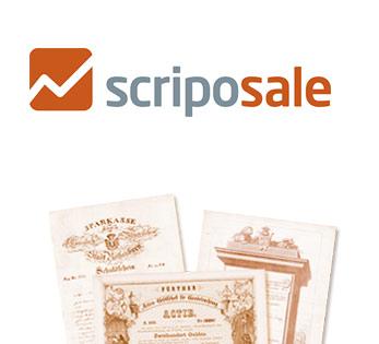 Logo Scriposale Historische Wertpapiere