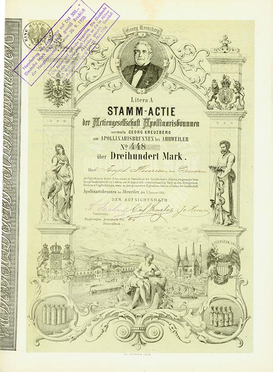 Actiengesellschaft Apollinarisbrunnen vorm. Georg Kreuzberg