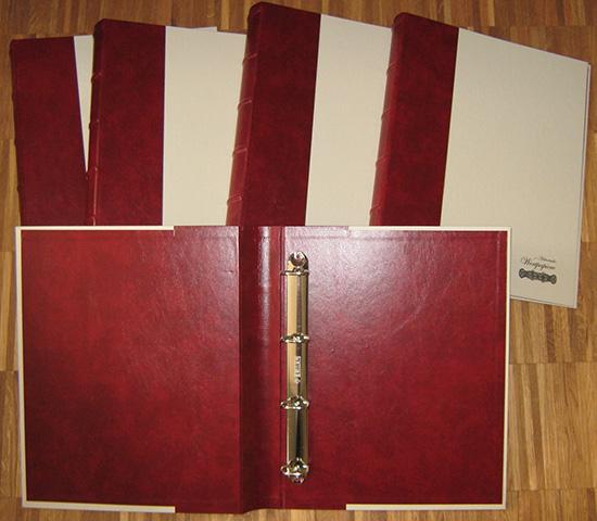 Album/Ringordner DIN A4 [5 Stück]