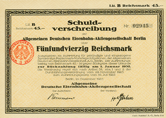Allgemeine Deutsche Eisenbahn-AG