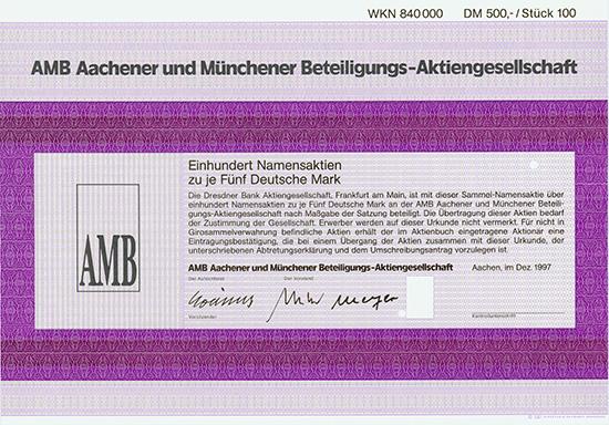 AMB Aachener und Münchener Beteiligungs-AG