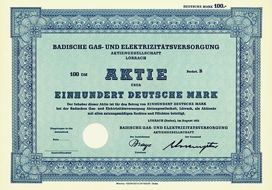 Badische Gas- und Elektrizitätsversorgung AG