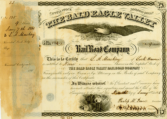 Bald Eagle Valley Rail Road Company