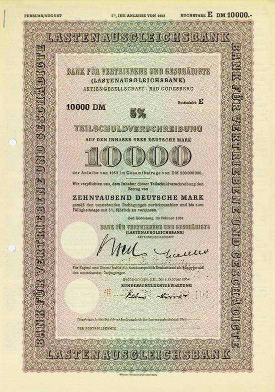 Bank für Vertriebene und Geschädigte (Lastenausgleichsbank)