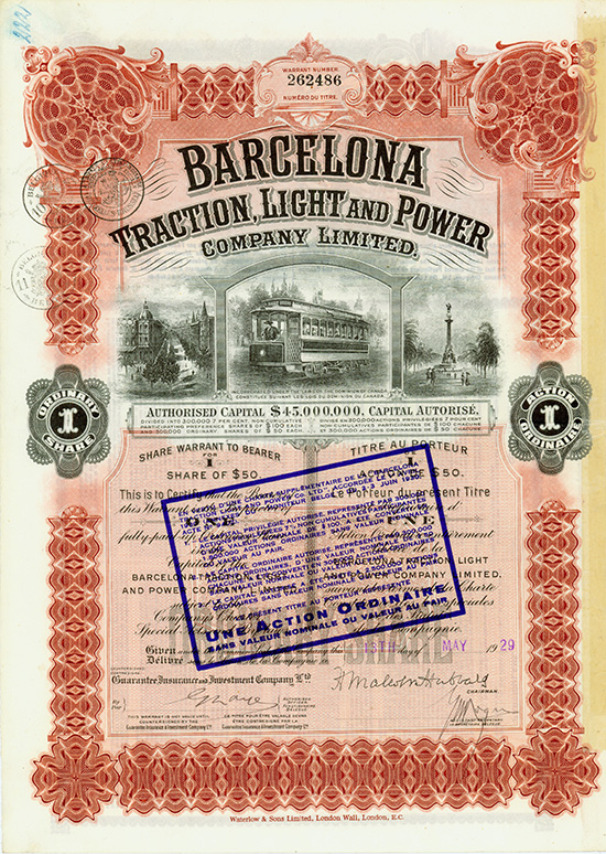 Barcelona Traction, Light and Power Company Limited