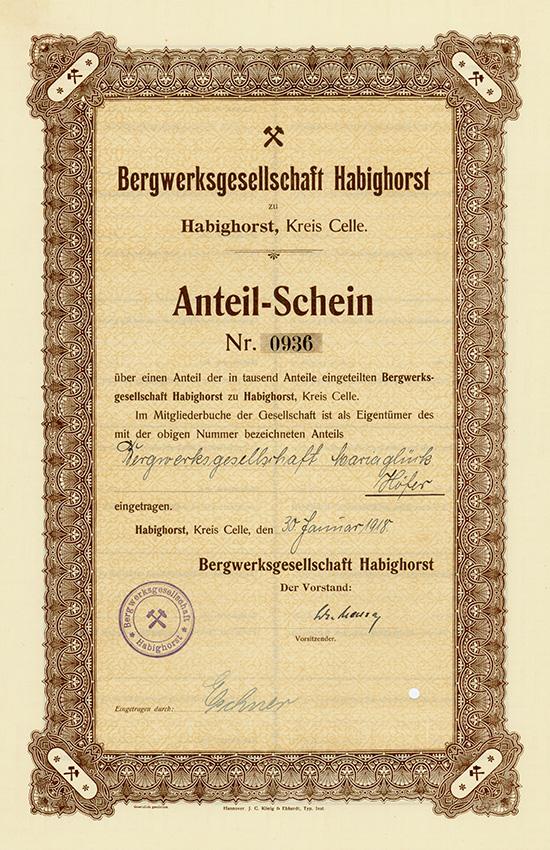 Bergwerksgesellschaft Habighorst