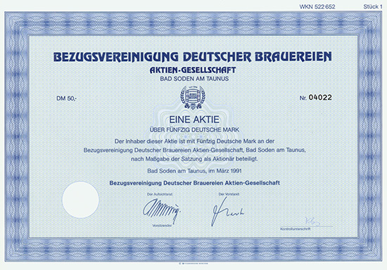 Bezugsvereinigung Deutscher Brauereien AG
