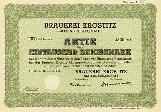 Brauerei Krostitz AG