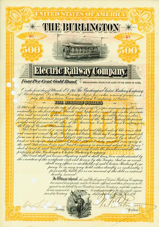 Burlington Electric Railway Company