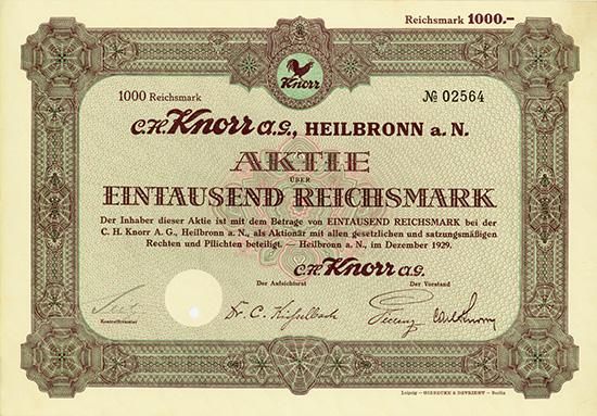 C. H. Knorr AG