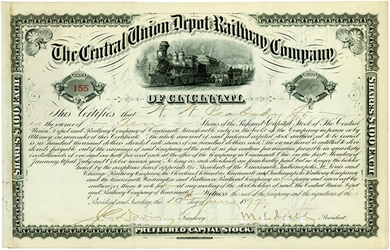 Central Union Depot and Railway Company