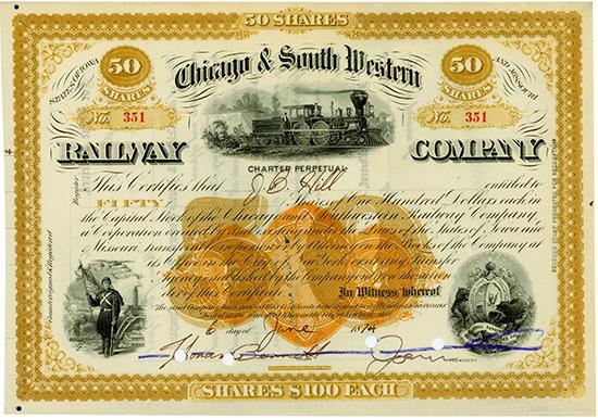 Chicago & South Western Railway Company