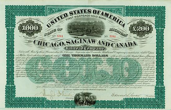 Chicago, Saginaw and Canada Railroad Company