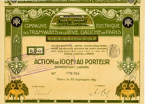 Compagnie Electrique des Tramways de la Rive Gauche de Paris