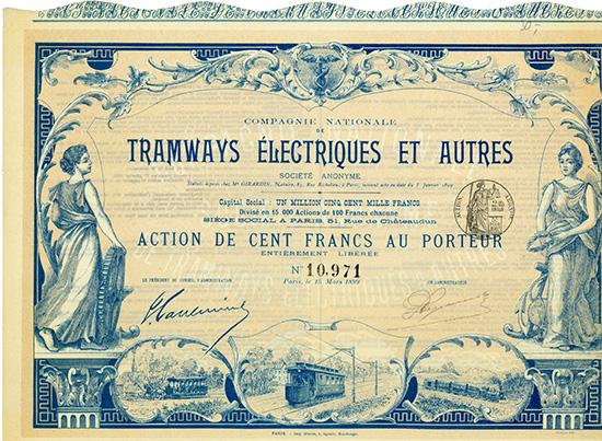 Compagnie Nationale de Tramways Electriques et Autres Societe Anonyme