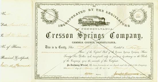 Cresson Springs Company