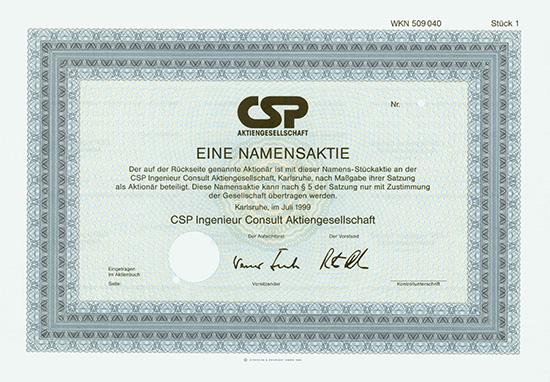 CSP Ingenieur Consult AG