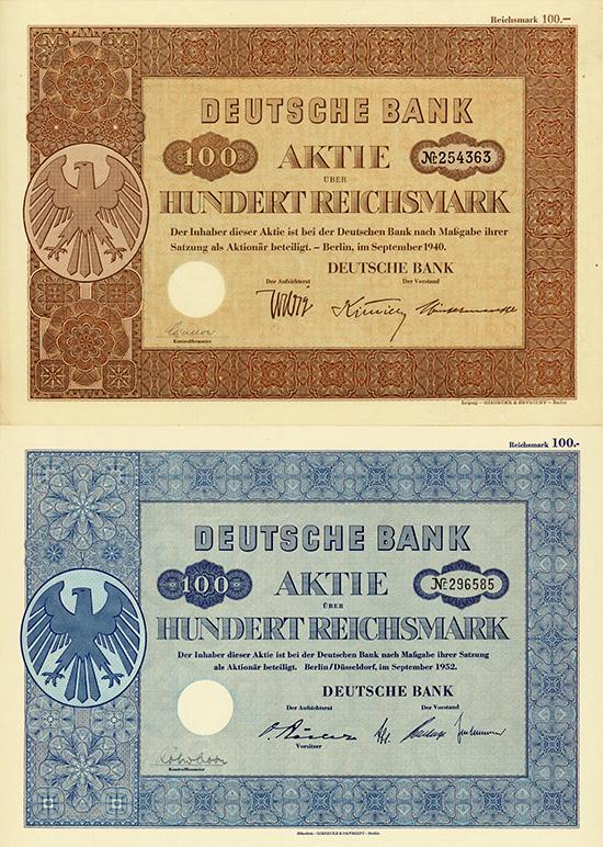 Deutsche Bank [3 Stück]