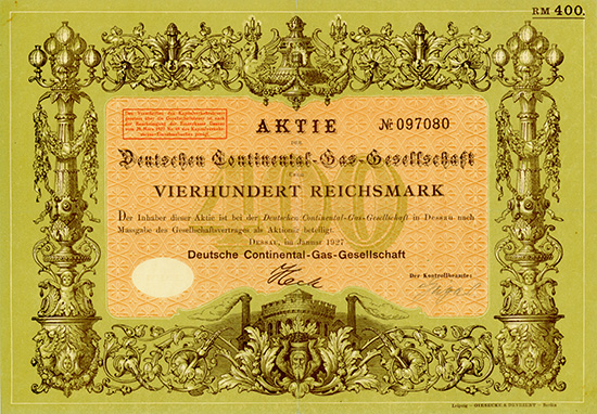 Deutsche Continental-Gas-Gesellschaft