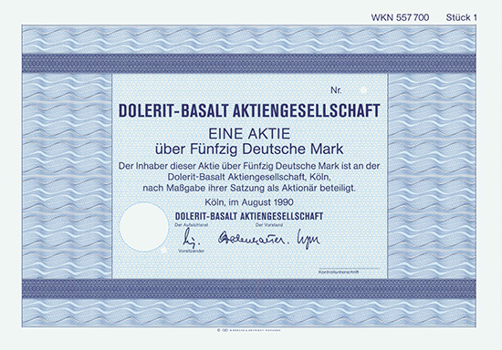 Dolerit-Basalt AG