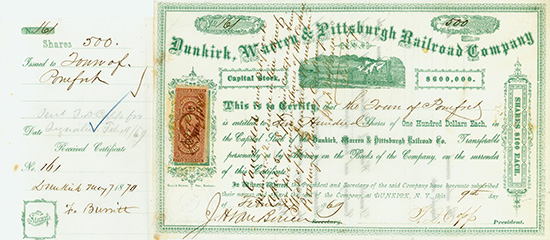 Dunkirk, Warren & Pittsburgh Railroad Company