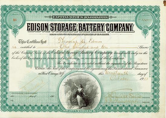 Edison Storage Battery Company