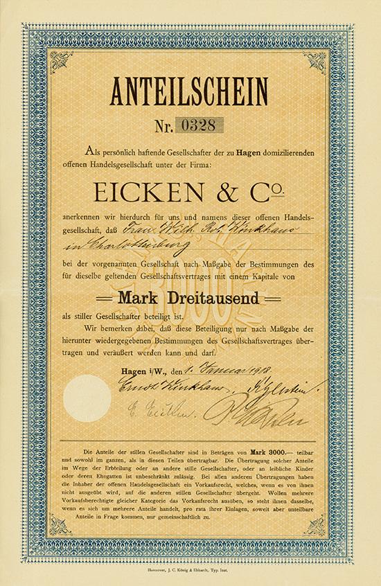 Eicken & Co. oHG