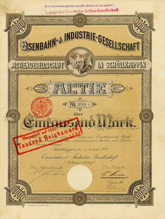 Eisenbahn- & Industrie-Gesellschaft AG