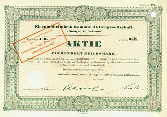 Eisenmöbelfabrik Lämmle AG