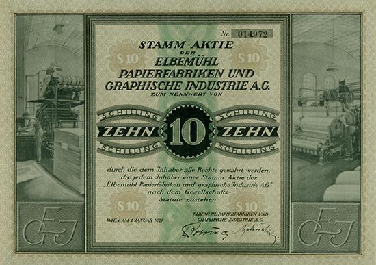 Elbemühl Papierfabriken und Graphische Industrie AG