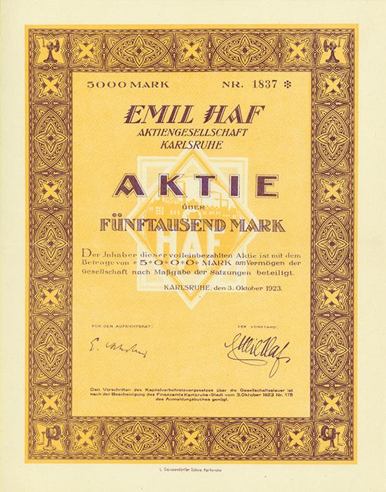 Emil Haf AG