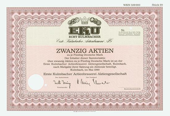 Erste Kulmbacher Actienbrauerei AG