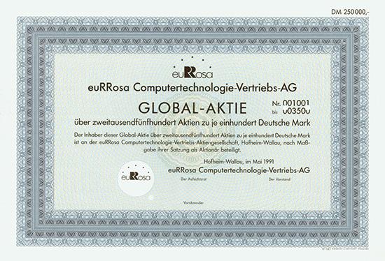 euRRosa Computertechnologie-Vertriebs-AG