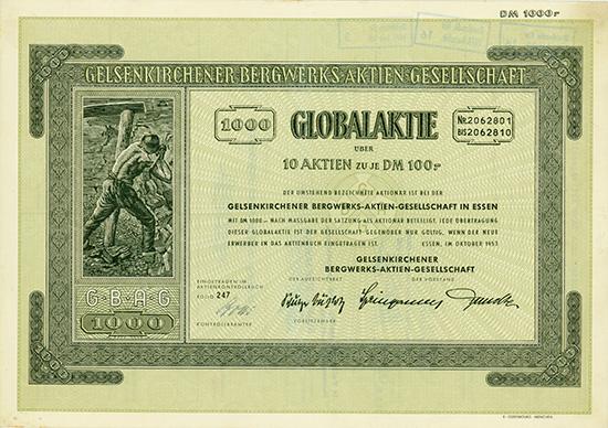 Gelsenkirchener Bergwerks-AG