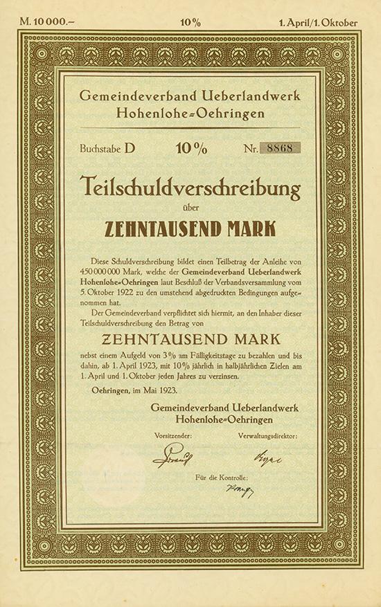 Gemeindeverband Ueberlandwerk Hohenlohe-Oehringen