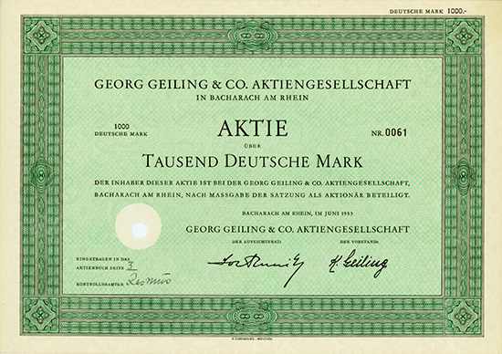 Georg Geiling & Co. AG