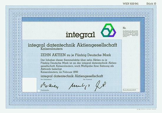 integral datentechnik AG