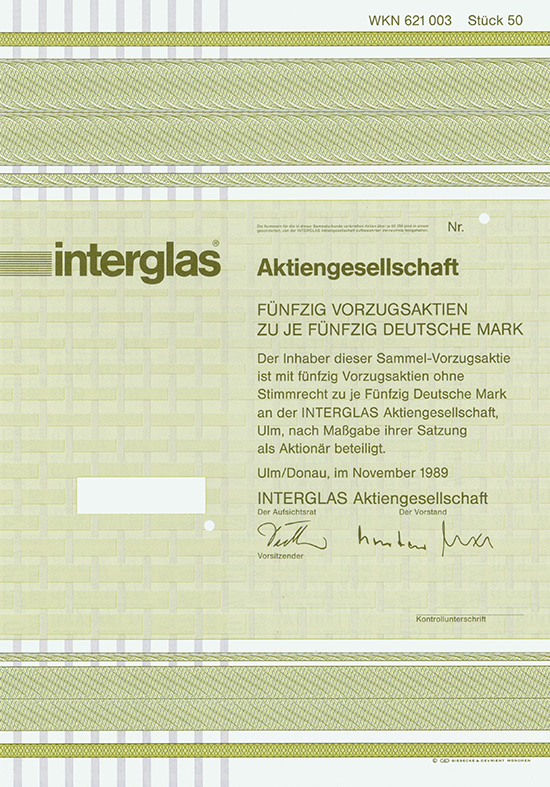 Interglas AG