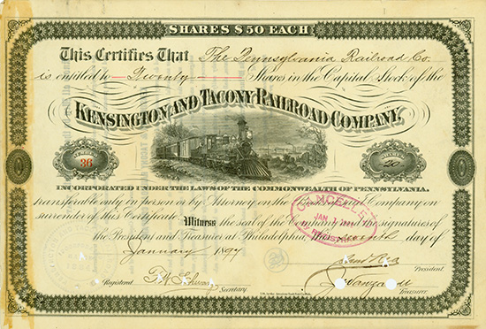 Kensington and Tacony Railroad Company