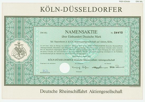 KÖLN-DÜSSELDORFER Deutsche Rheinschiffahrt AG