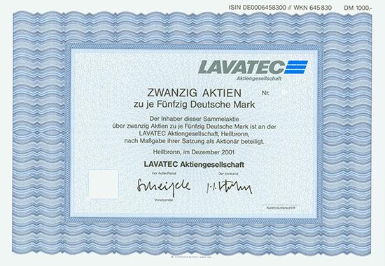 LAVATEC AG