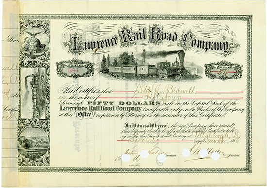 Lawrence Rail Road Company