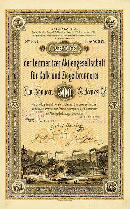 Leitmeritzer Aktiengesellschaft für Kalk- und Ziegelbrennerei