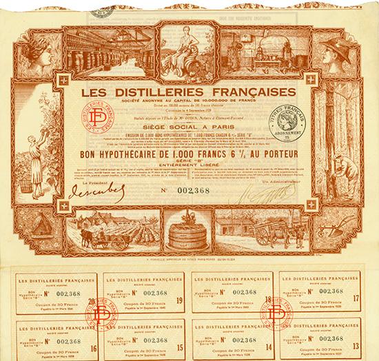 Les Distilleries Francaises