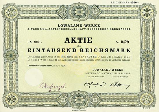 Lowaland-Werke Bitzer & Co. AG