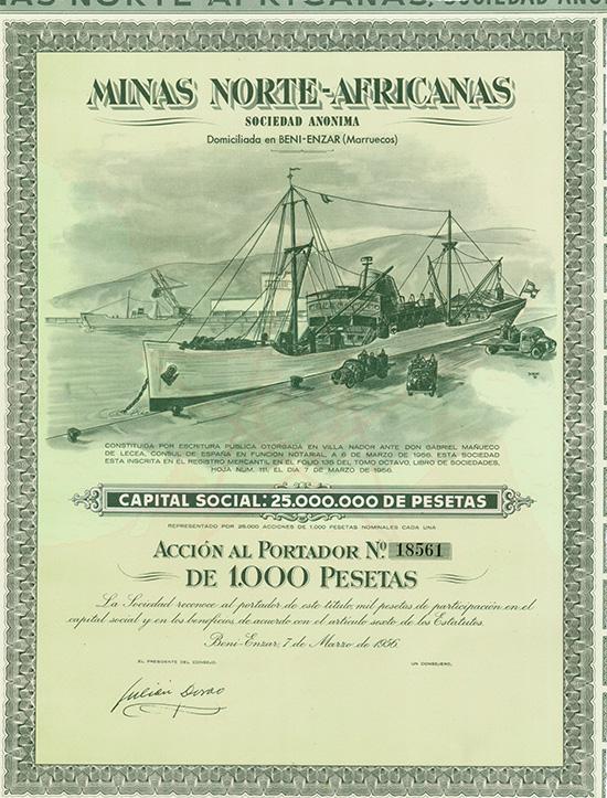Minas Norte-Africanas S.A.