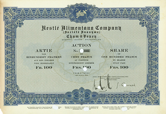 Nestle Alimentana Company