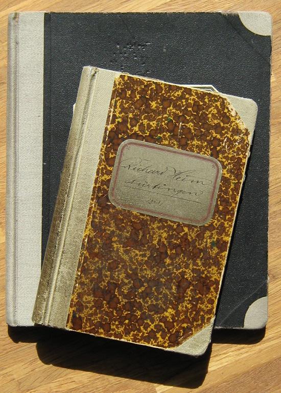Nürtingen: Cassa-Buch von Richard Heinz [2 Stück]
