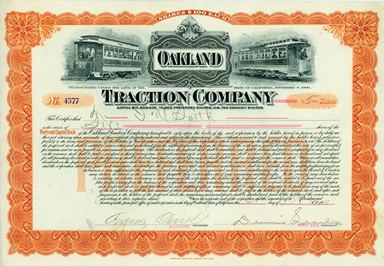 Oakland Traction Company
