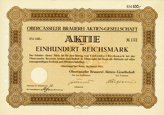 Obercasseler Brauerei AG